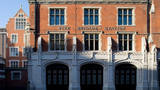 Chiltern Firehouse – front view