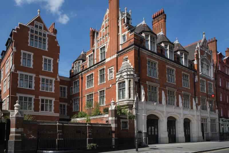 Chiltern Firehouse – side view